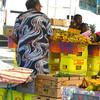 Dockside market, Saint Pierre, Martinique.