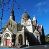 Sacré-Cœur de Balata Church, a replica of the parisian Montmartre Church lodged on a cliff surrounded by tropical forest. Martinique