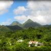 Mount Pelée volcano