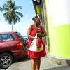 Street scene, Saint Pierre, Martinique.