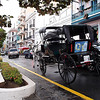 Horse and buggy. Old San Juan.