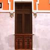 Balconey. Street scene. Old San Juan