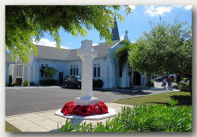 Elmlslie Memorial United Church in Georgetown, Grand Cayman. The church celebrated its 90th anniversary in 2012.