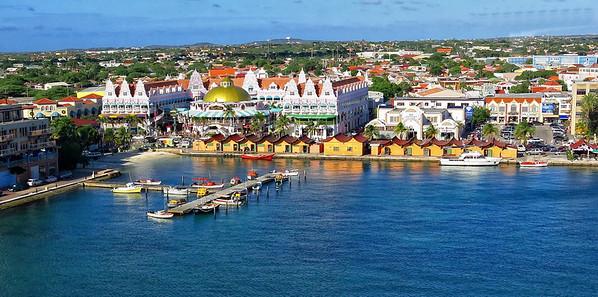 Aruba harbor area