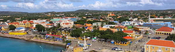 panorama view of Bonaire