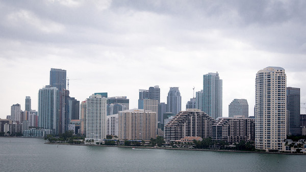 Miami - Port - Leaving for the Caribbean