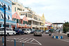 Could only be one place: Hamilton, Bermuda: Gosling Brothers to the left, the famous Birdcage on the right and pastel building all along the harbourside street.<br /> <br /> We were pleasantly surprised at how unaltered the town remains.