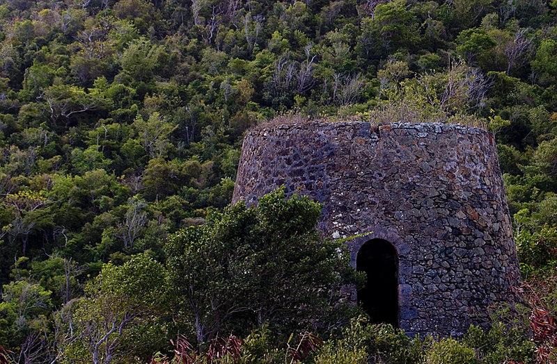 Wills Bay Ruines, St. Croix, US Virgin Islands