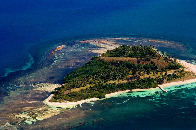 One island within the Culebra Archipelago, Puerto Rico