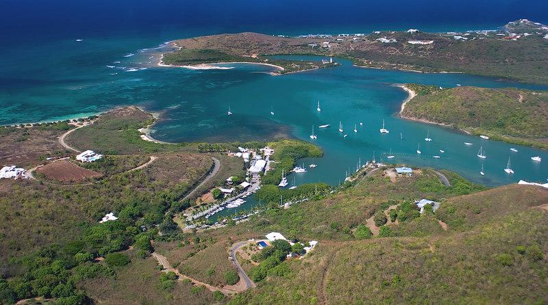 Salt River Aerial, St. Croix, US Virgin Islands