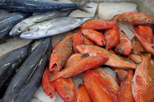 At Fish Market on St. Vincent