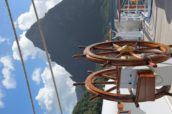 Bridge view to starboard (shown in landscape at viewers request)