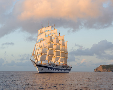 Royal Clipper Sailing