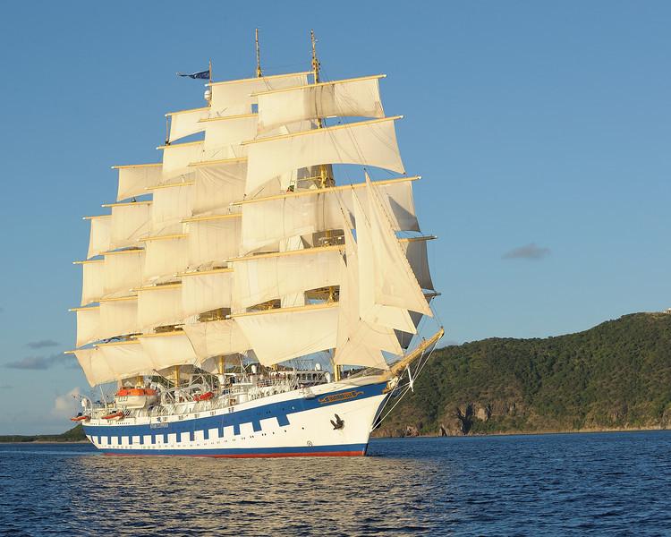 Royal Clipper Full Sails