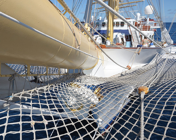 Bow Net looking aft