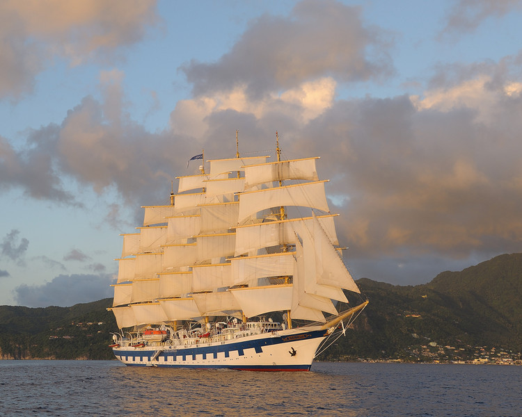 Royal Clipper under sail