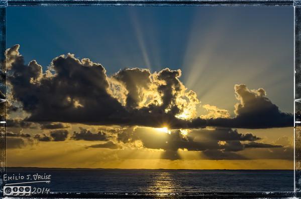 Caribbean Sunset 08dec14