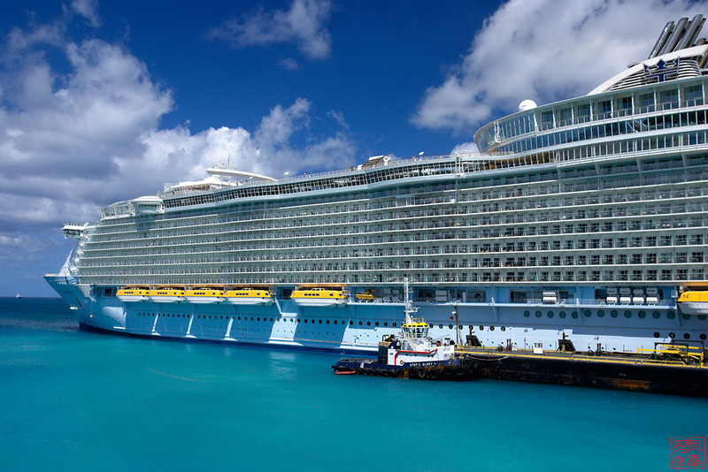 Oasis of the sea, largest cruise ship on earth