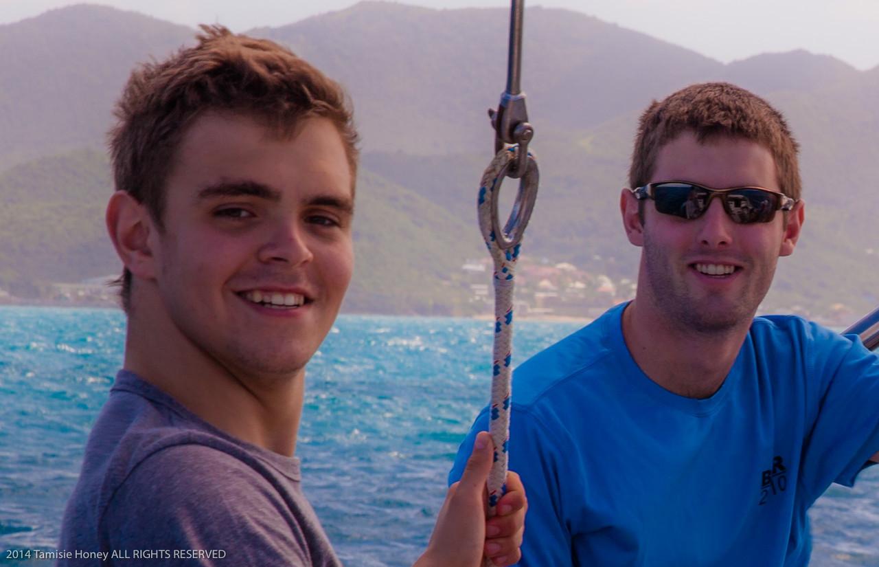 Tim and Conrad
