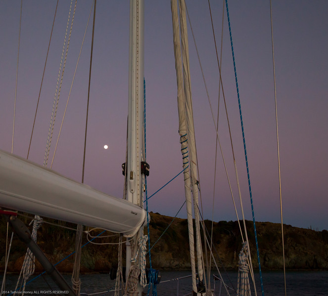 Full Moon in Rigging