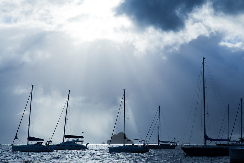 St. Barth's Silhouettes