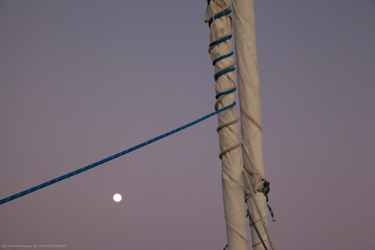 Full Moon Captured