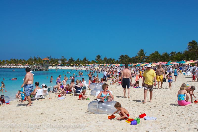 The Beach at Castaway Cay