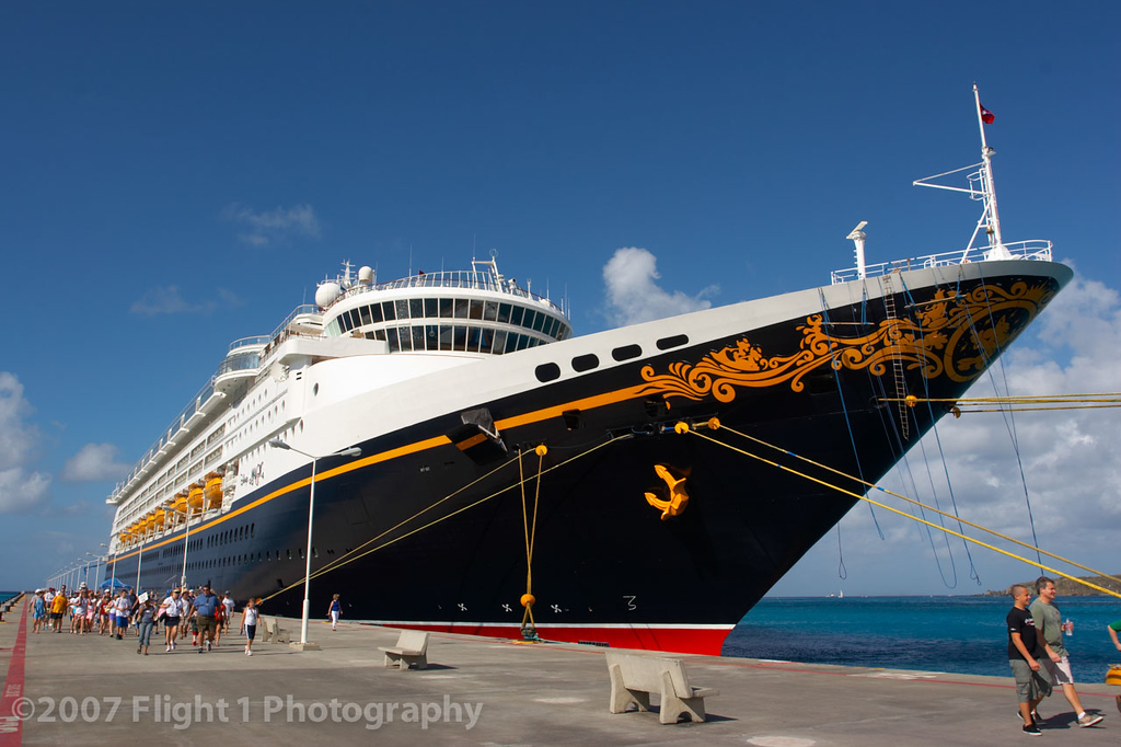 At the St. Maarten dock