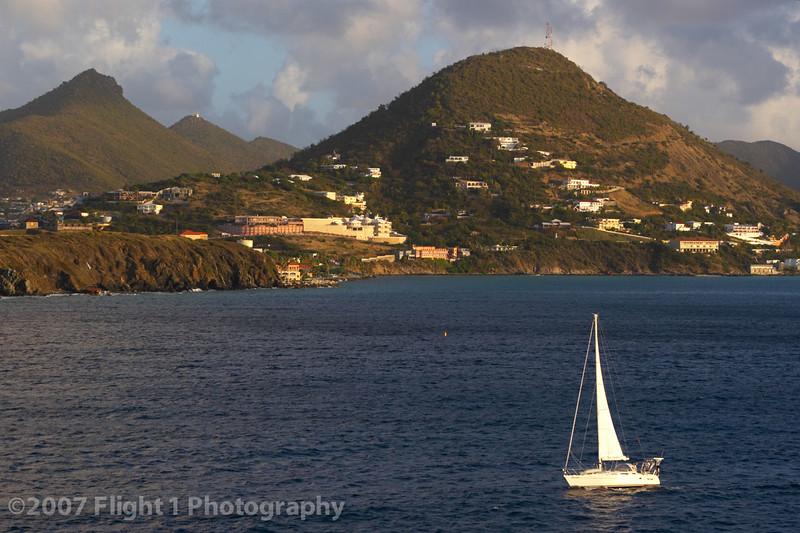 Morning in St. Maarten