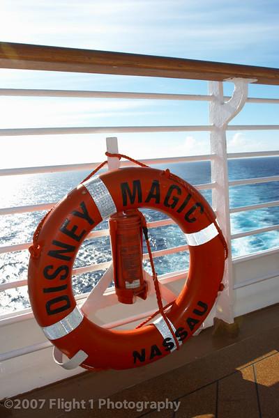 At sea on the Disney Magic