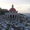 Santa María Magdalena de Pazzis Cemetery, which sits beside El Morro in San Juan, Puerto Rico.