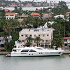Luxury homes and boats in Miami.