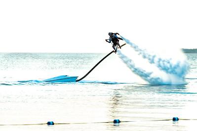 Rocket Man on Seven Mile Beach, Grand Cayman