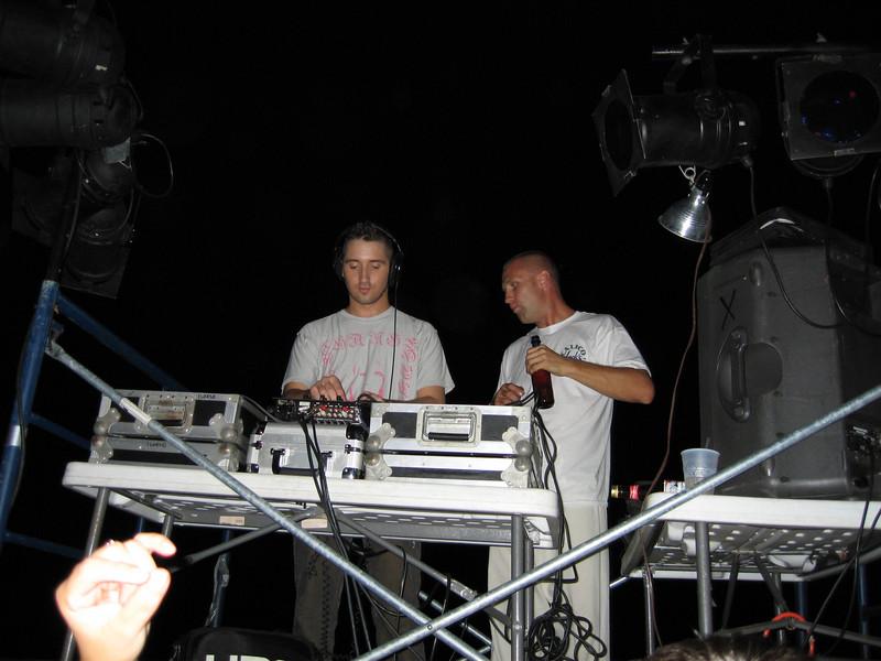 The DJs.