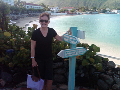 We stayed two nights at the Grand Case Beach Club before flying to St Barts