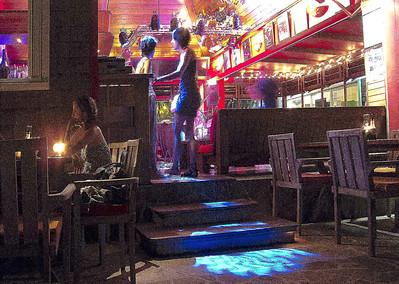 Bas Bar in Gustavia