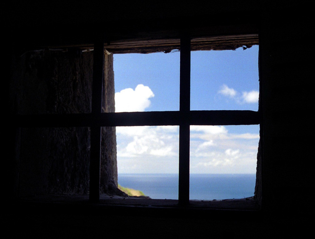 St. Kitts dungeon window