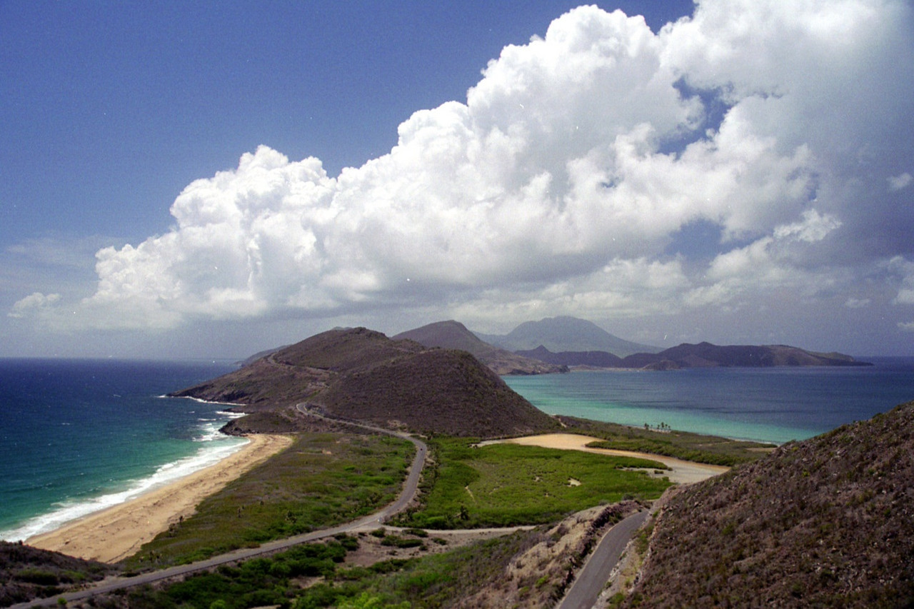 St. Kitts lower end of the island - replaced by Kaiwah development