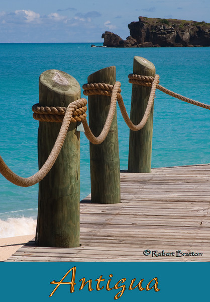 Boardwalk at Galley Bay, Antigua