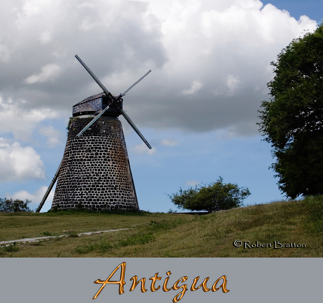 Windmill in Antigua