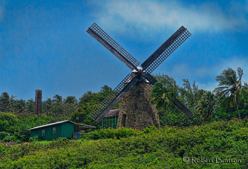 Windmill in Bardados