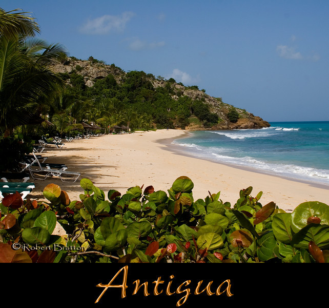 Beach at Galley Bay, Antigua