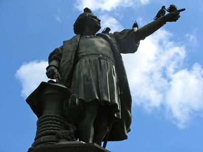 Christopher Columbus, Santo Domingo Dominican Republic June 2010