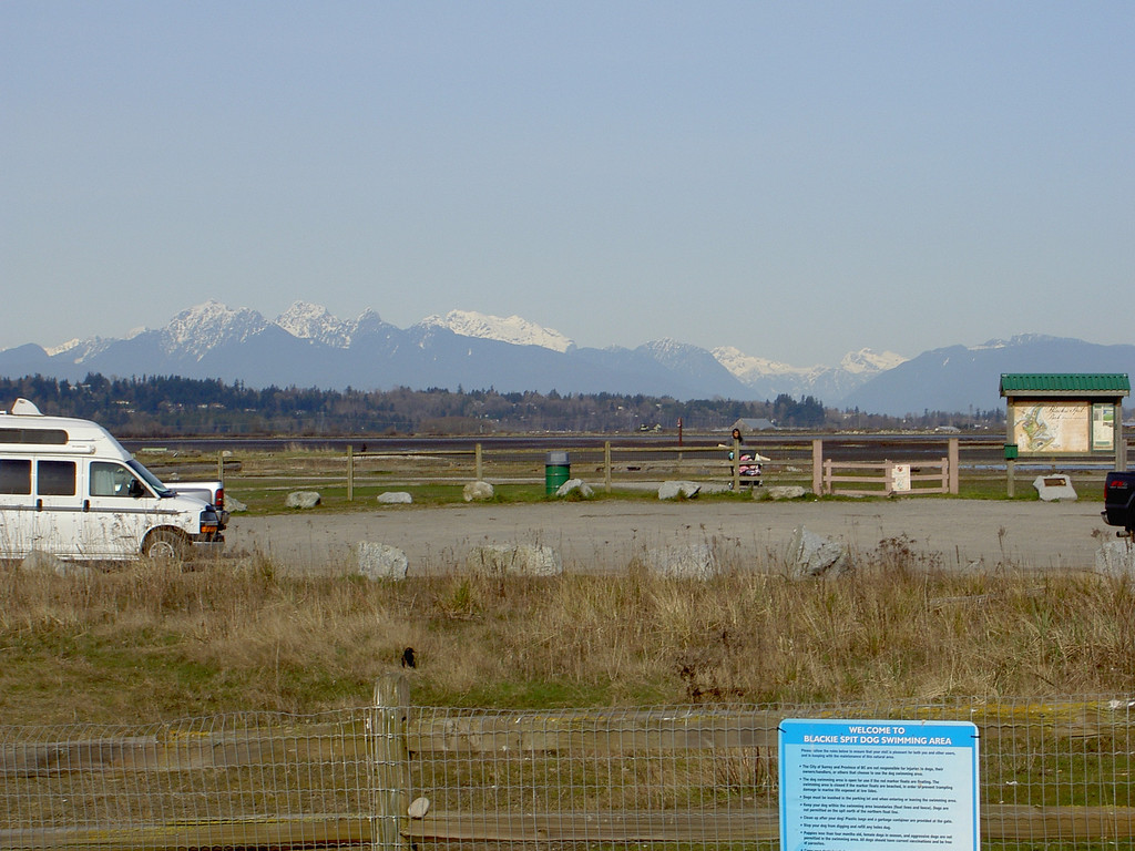 Snow capped mountains everywhere