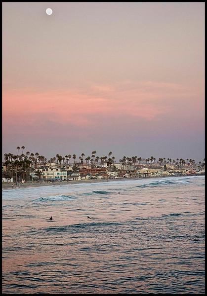 Sunset from the Oceanside Pier