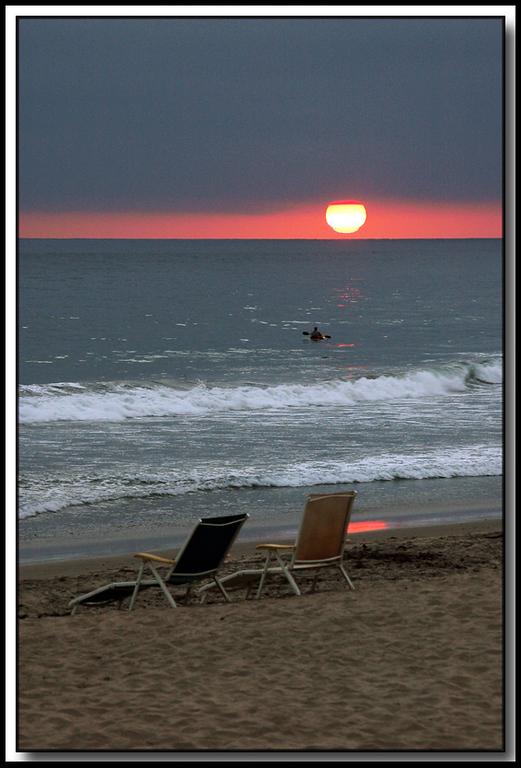 Carlsbad beach, sunset