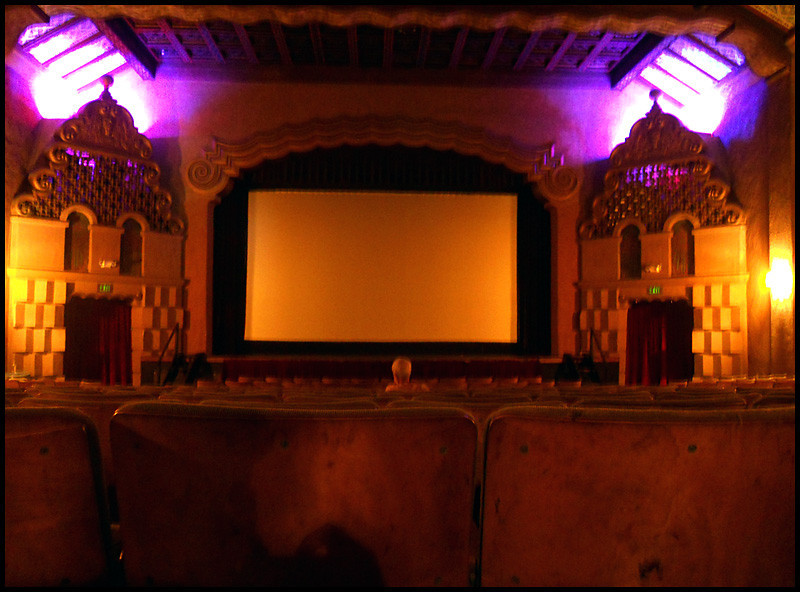 The old La Paloma Theater, Encinitas, Ca.
