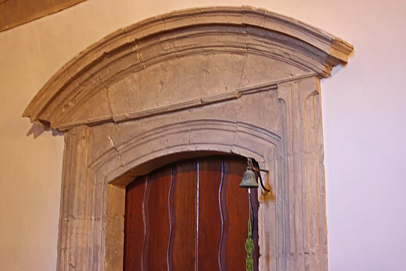 Carmel Mission - original stone doorway