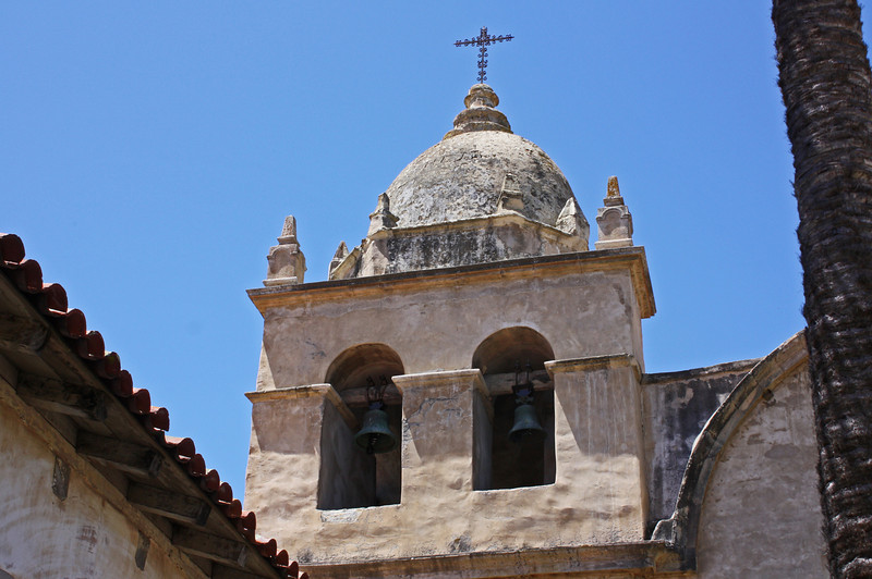 Bell tower - Carmel Mission