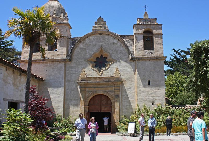 Carmel Mission - main door